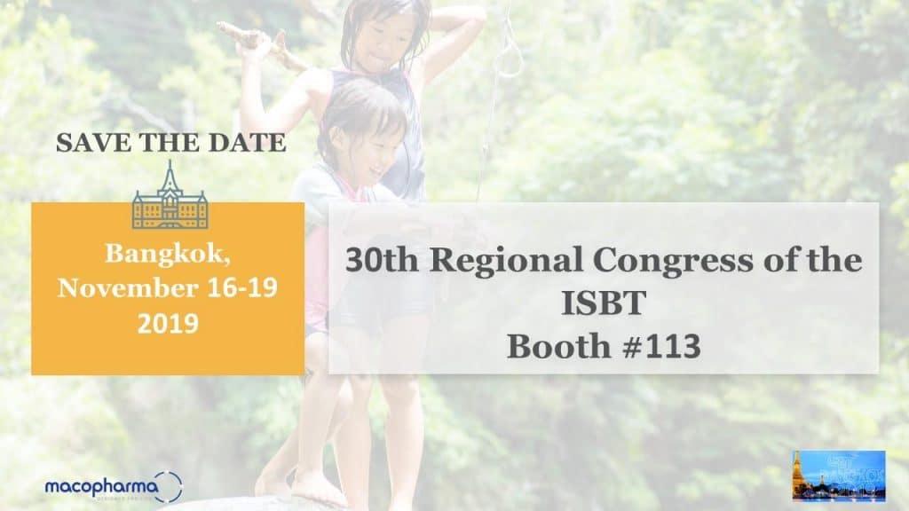 30th regional congress macopharma
